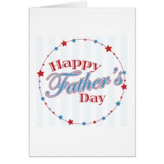 Cartes Fête des pères heureuse