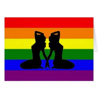 Cartes Fierté lesbienne grecque