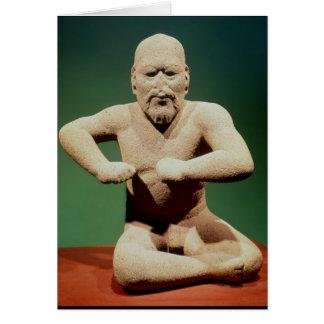 Cartes Figurine d'un lutteur