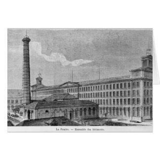 Cartes Filature de coton de Foudre de La