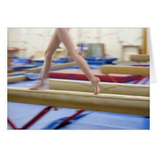 Cartes Fille (16-17) courant sur le faisceau d'équilibre,