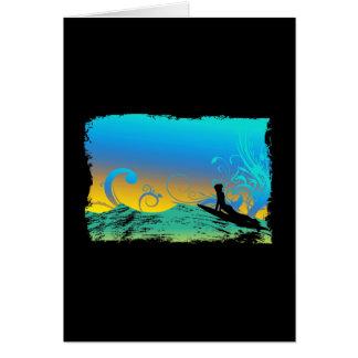 Cartes Fille de surf