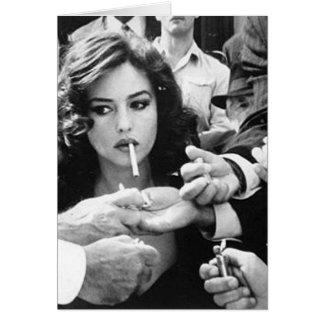 Cartes Fille de tabagisme