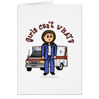 Cartes Fille légère d'infirmier