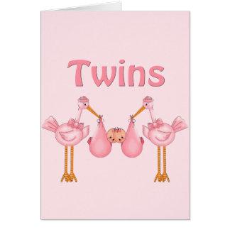 Cartes Filles jumelles