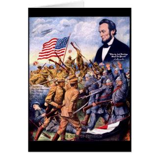 Cartes Fils vrais d'Abraham Lincoln de la liberté