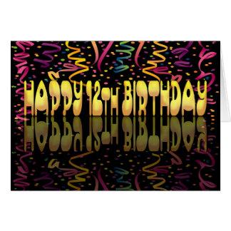 Cartes Flammes du joyeux anniversaire 12