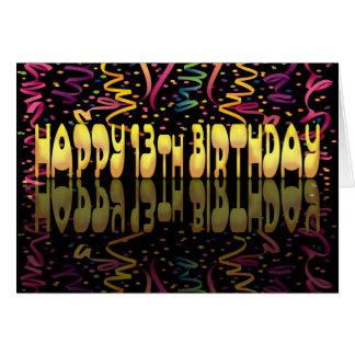 Cartes Flammes du joyeux anniversaire 13