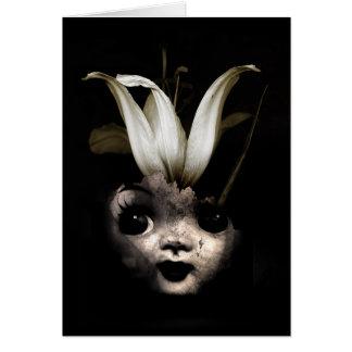 Cartes Fleur 2013 de poupée