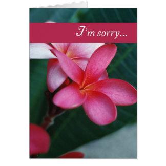Cartes Fleur de 3747 excuses