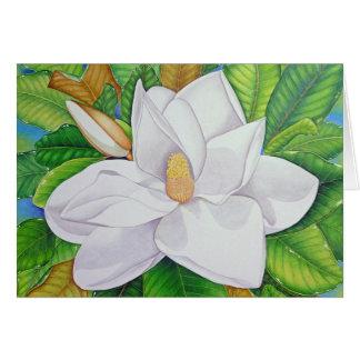 Cartes Fleur de magnolia