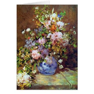 Cartes Fleurs de ressort par Renoir