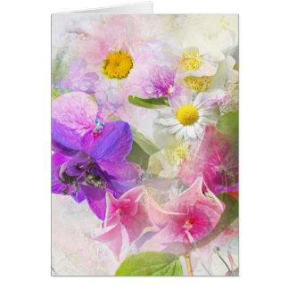 Cartes Fleurs d'été