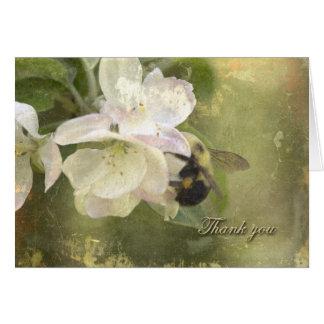 Cartes Fleurs et bourdon d'Apple