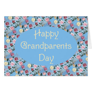 Cartes Fleurs pour le jour de Grand-maman-Grands-parents
