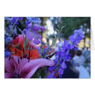 Cartes Fleurs réutilisées