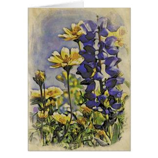 Cartes Fleurs sauvages sauvages 1