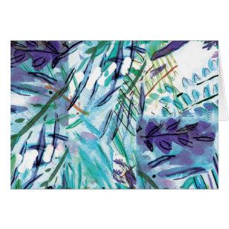 Cartes Flora bleue