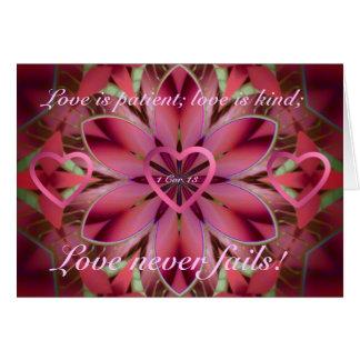 Cartes Floral romantique