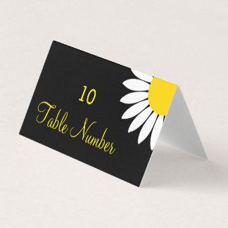 Cartes florales jaunes modernes simples de Tableau