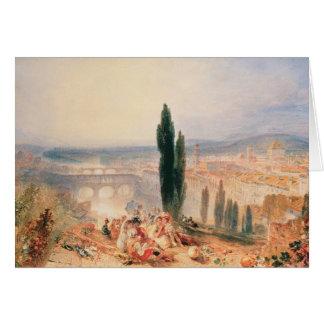 Cartes Florence de San Miniato proche, 1828