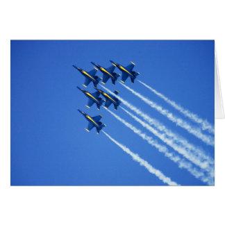 Cartes Flyby d'anges bleus pendant la semaine 2 de 2006