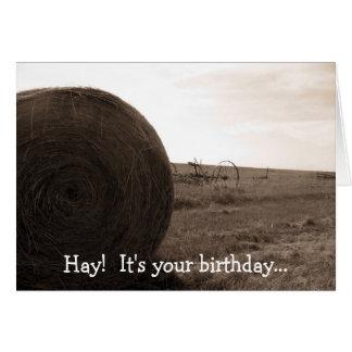 Cartes Foin !  C'est votre anniversaire…