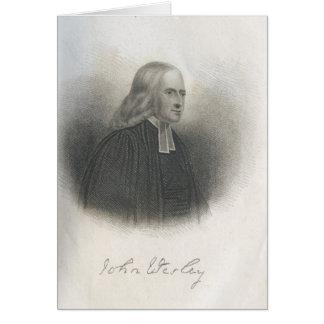 Cartes Fondateur de méthodiste de John Wesley