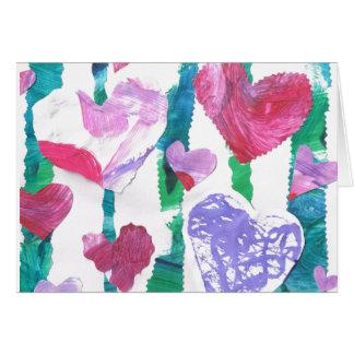 Cartes Forêt de coeurs