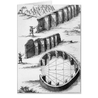 Cartes Formation d'écho, livre par Athanasius Kircher