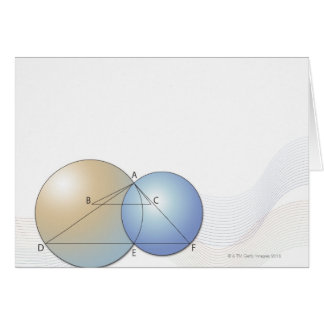 Cartes Formule, graphique, symboles 7 de maths