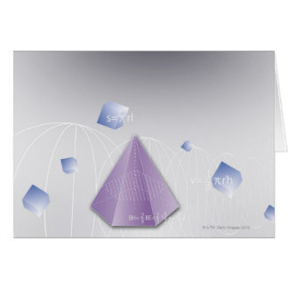 Cartes Formule, graphique, symboles 8 de maths