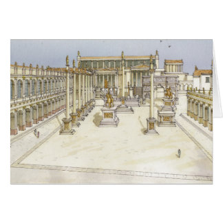 Cartes Forum impérial. Rome
