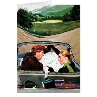 Cartes Fourchette dans la route