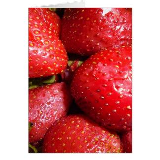 Cartes fraise