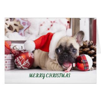 Cartes Français Taureau de Joyeux Noël