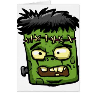 Cartes Frankenstein de bébé - contreseing de bébé -
