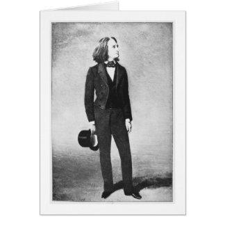 Cartes Franz Liszt (1811-86) 1856 (litho) (photo de b/w)