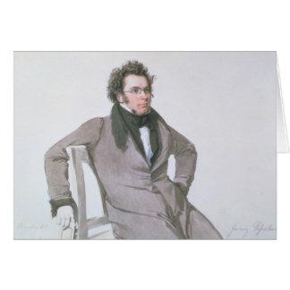 Cartes Franz Schubert, 1825