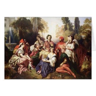 Cartes Franz Xaver Winterhalter- le Decameron