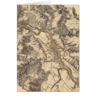 Cartes Fredericksburg, la Virginie