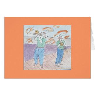 Cartes frénésie de trombone