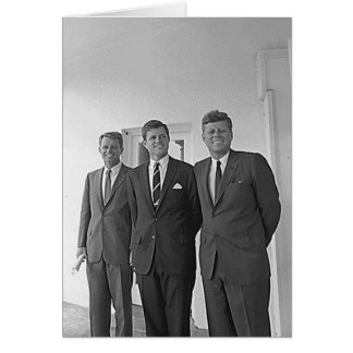 Cartes Frères de Kennedy, John, Ted, Robert