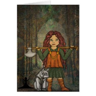 Cartes Freya par art féerique mythique