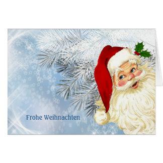 Cartes Frohe Weihnachten - Noël allemand