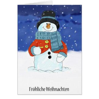 Cartes Frohliche Weihnachten - Noël allemand C de