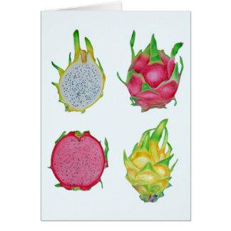 Cartes Fruit de dragon