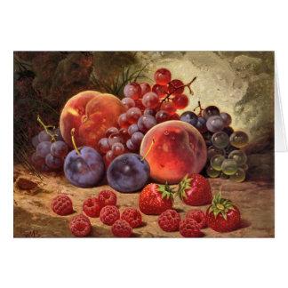 Cartes Fruits d'été
