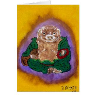 Cartes furet Bouddha