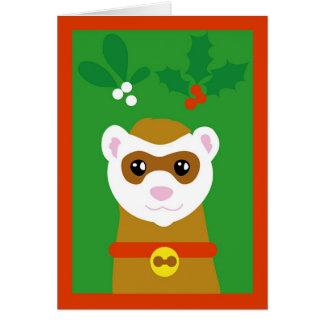 Cartes Furet de Noël
